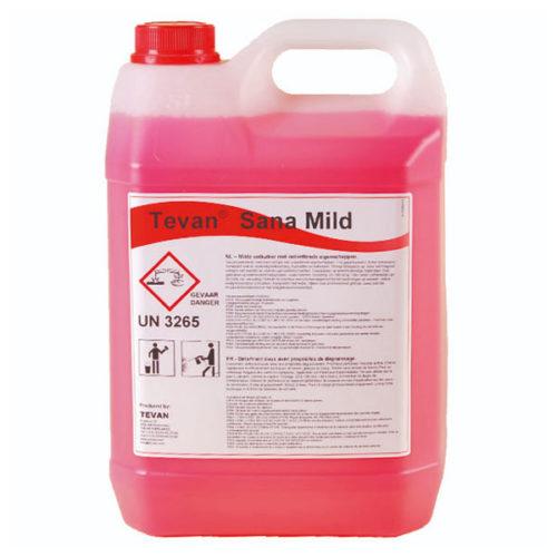 Bidon de 5 litres de Tevan Sana Mild : un anticalcaire doux conçu pour un usage quotidien