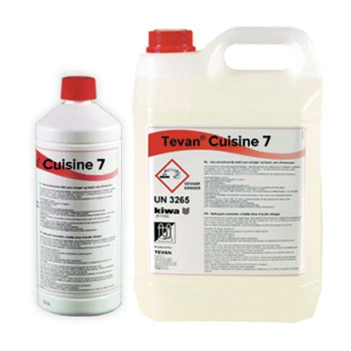 Tevan cuisine 7 : Anticalcaire rapide – produit acide concentré