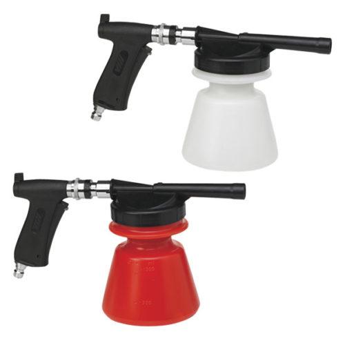 NiTO Clean classique pulvérisateur de mousse : deux modèles blanc et rouge
