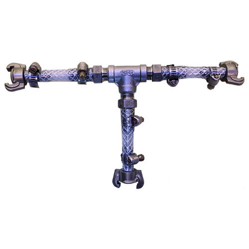 Té de dérivation Geka pour branchement 2 lances de pulvérisation basse pression