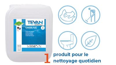 Nettoyant peroxyde d'hydrogène oxsilive