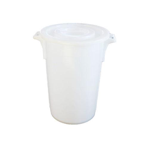 Bac de 75 litres avec couvercle pour Herlimat junior