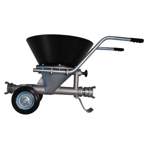 Herlimat N : Elévateur de produits solides à jet de liquide sur chariot