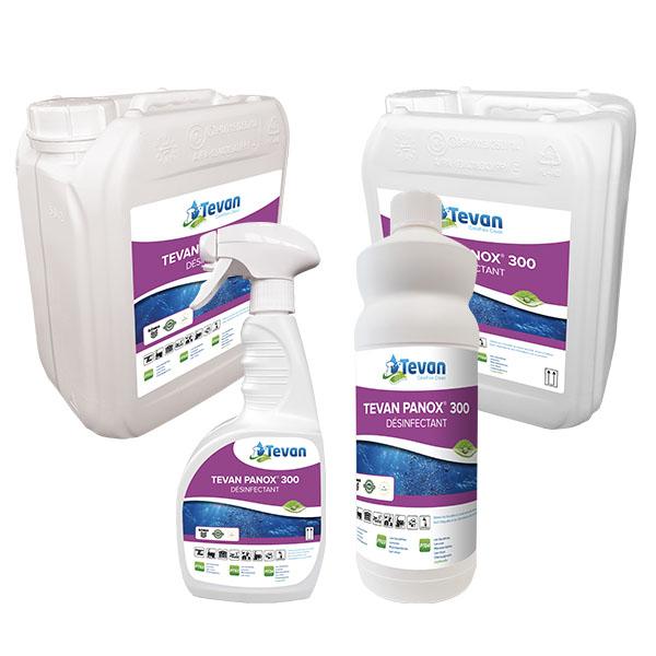 Gamme des désinfectants Tevan Panox 300